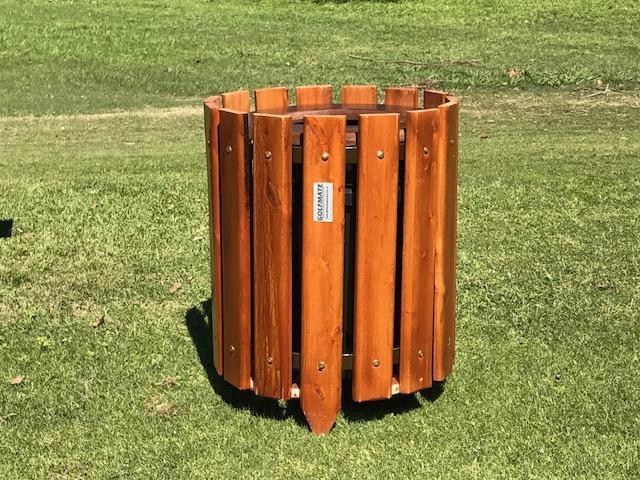 Distribuidora sure a cesto basura de madera - Cestos de madera ...